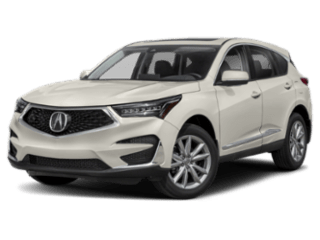 Angled view of the Acura RDX