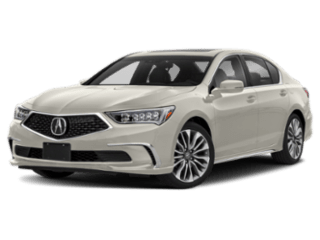 Angled view of the Acura RLX