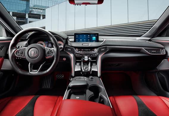 2021 Acura TLX - interior
