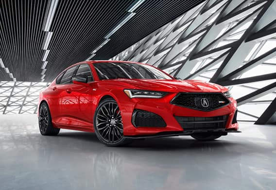 2021 Acura TLX - Red Exterior