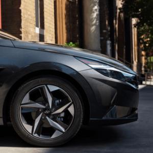 2021 Hyundai Elantra Hood available at Ajax Hyundai