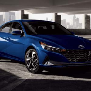 2021 Hyundai Elantra Blue available at Ajax Hyundai