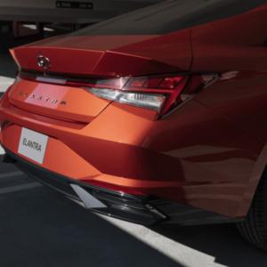 2021 Hyundai Elantra Tail Lights available at Ajax Hyundai