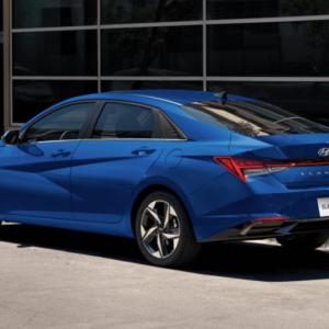 2021 Hyundai Elantra Blue Side available at Ajax Hyundai