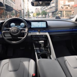 2021 Hyundai Elantra Interior Front available at Ajax Hyundai