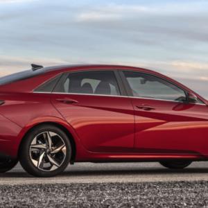 2021 Hyundai Elantra Red Side available at Ajax Hyundai