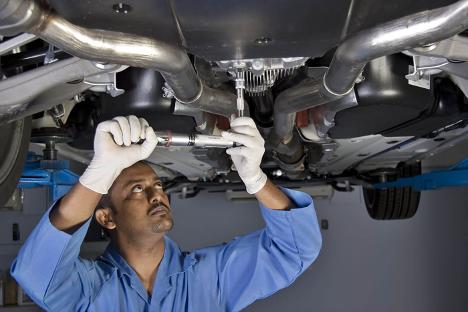 Car Detailing and maintenance at Ajax Nissan