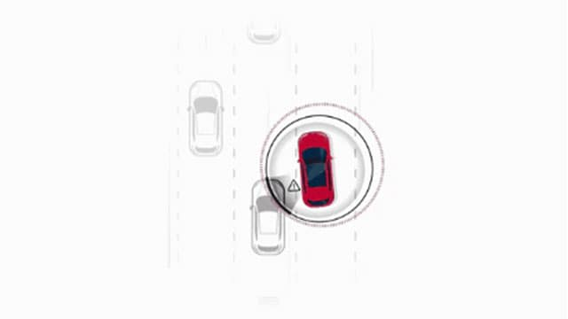 Intelligent Blind Spot Warning at Ajax Nissan