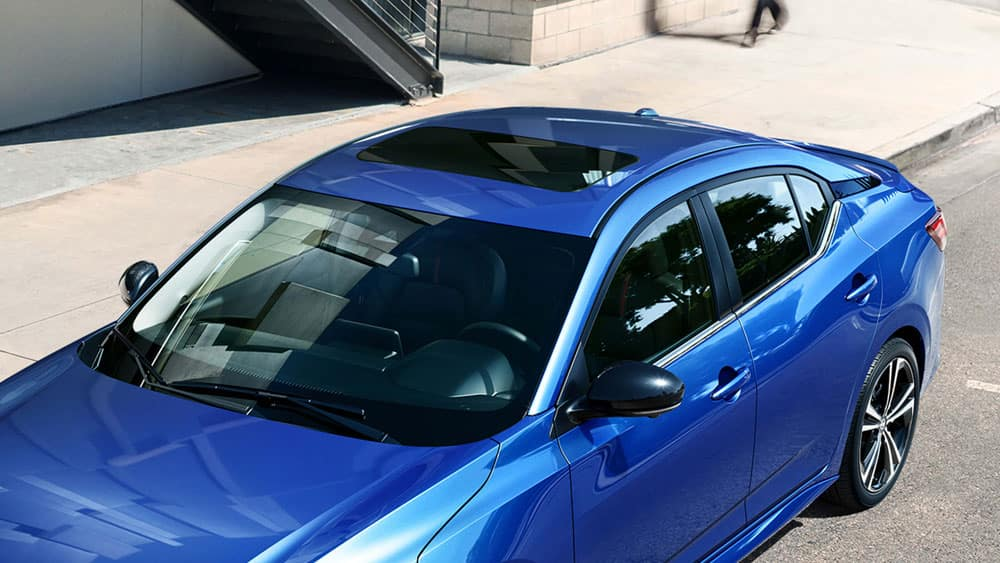 2020 Sentra moonroof available at Ajax Nissan