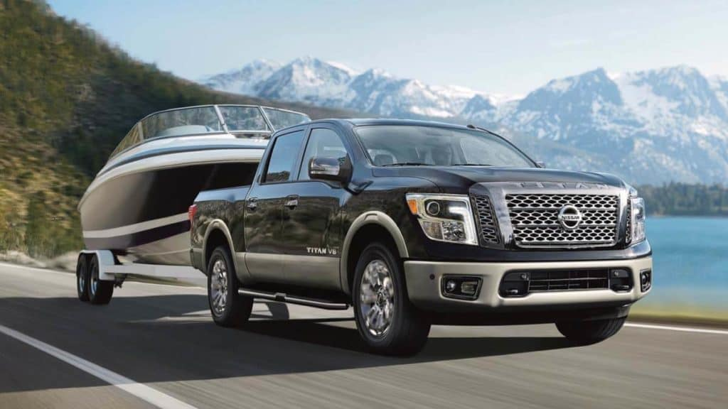 2019 nissan titan Features exterior pulling boat