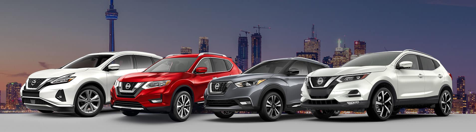 2021 and 2020 Nissan vehicles at Ajax Nissan