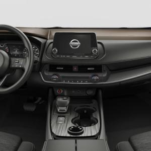 2021 Nissan Rogue front interior