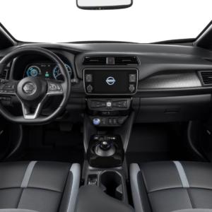Nissan Leaf front interior