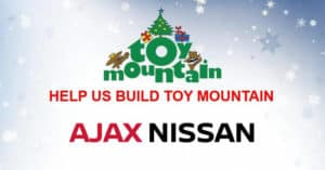 Toy Mountain at Ajax Nissan