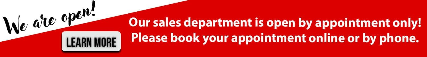 Ajax Nissan is open by appointment only. Click to learn more.