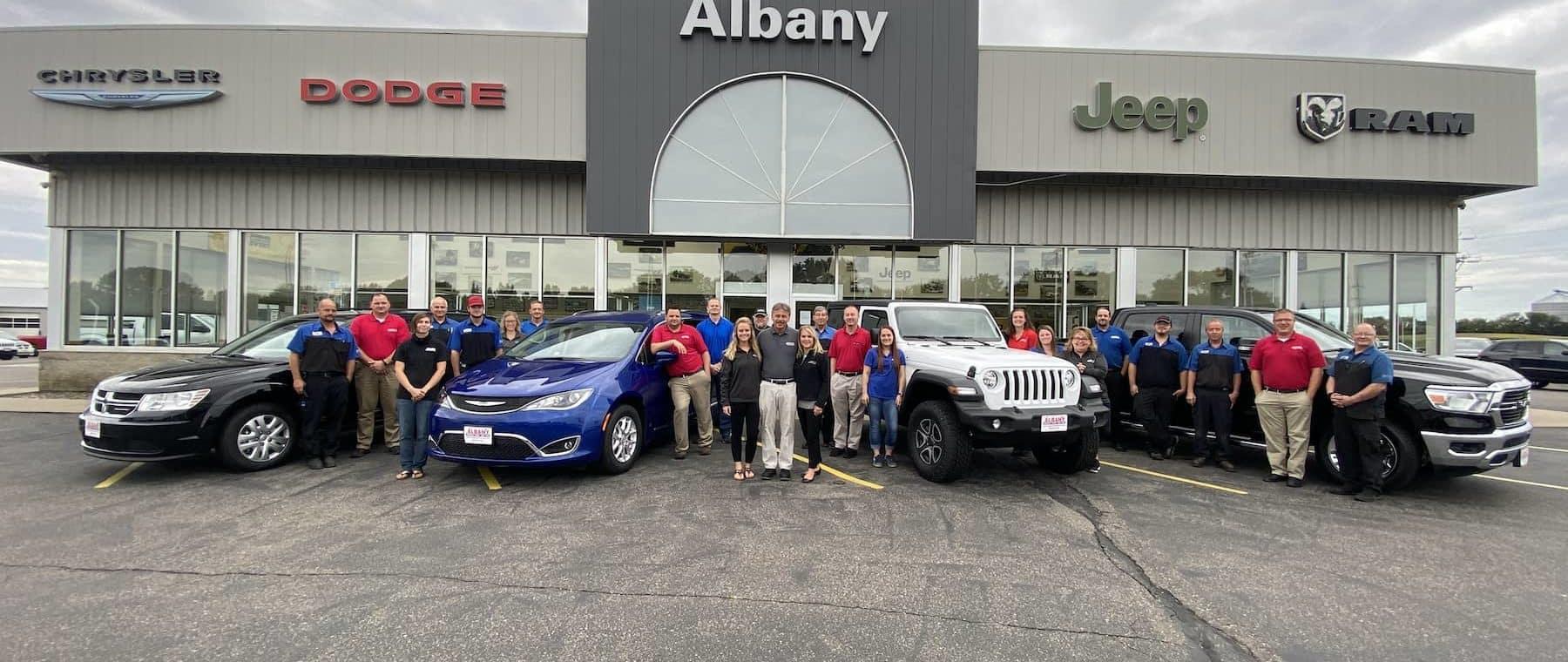 Albany Chrysler Staff 2020