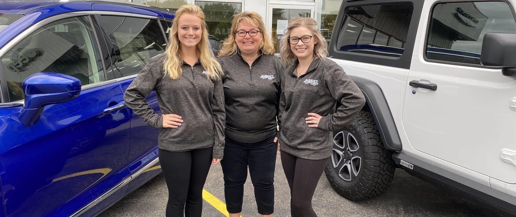 Albany Chrysler Finance Team