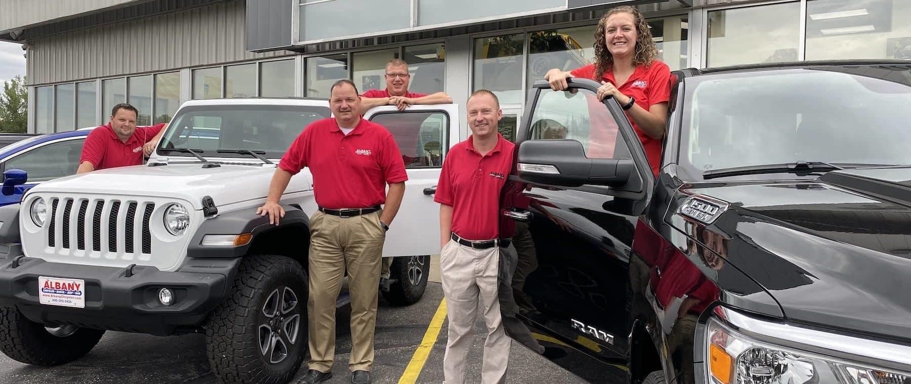 Albany Chrysler Sales Team