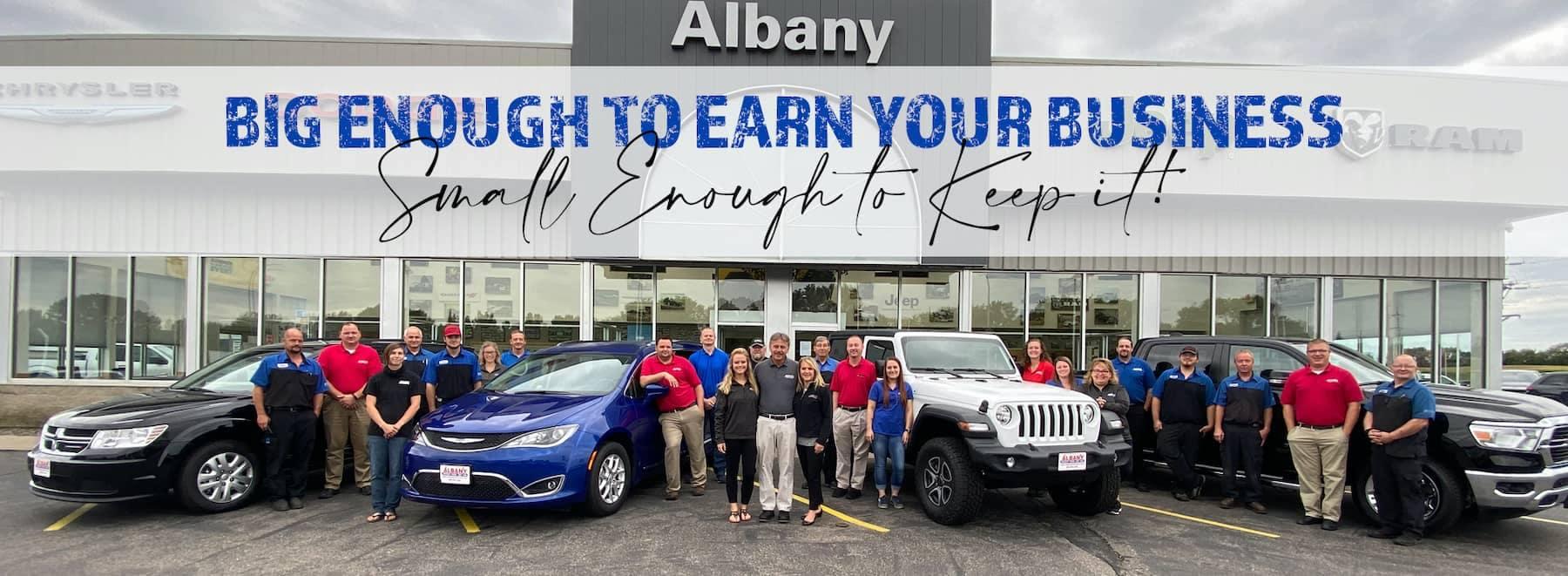 Albany Chrysler September 2020 Banner