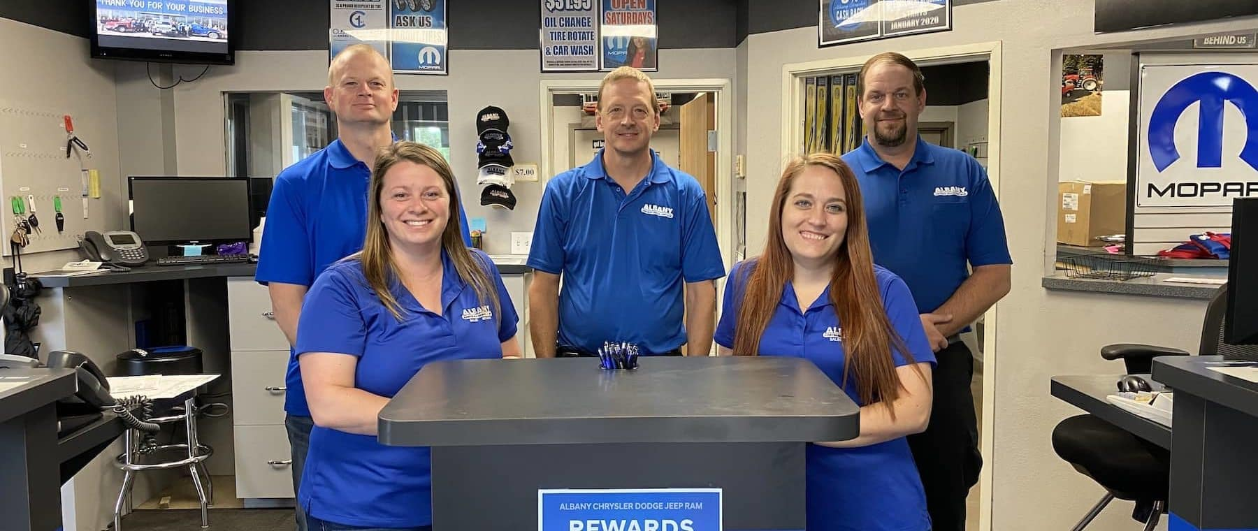 Albany Chrysler Service Department