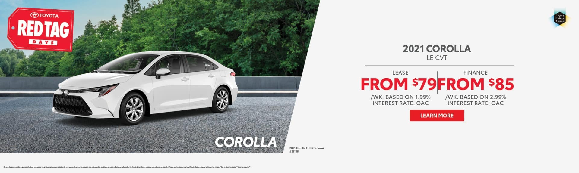 2021 Corolla Offer BC