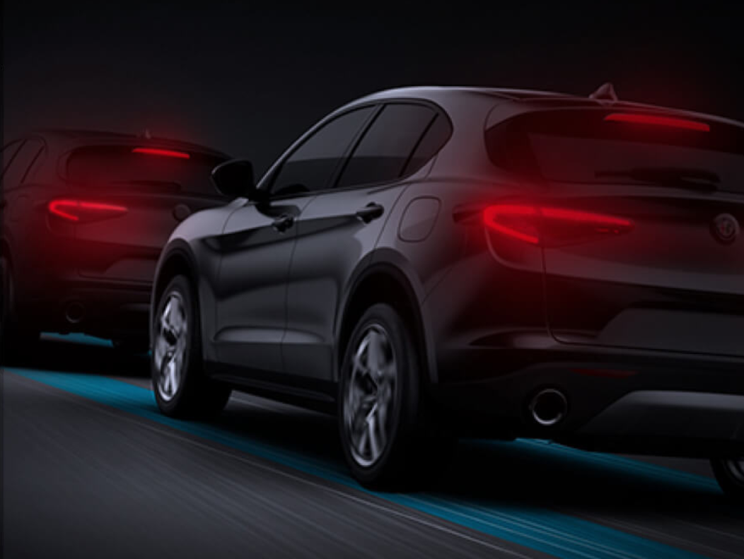 2020 Stelvio Safety and Technology | Driver-Centric Technologies