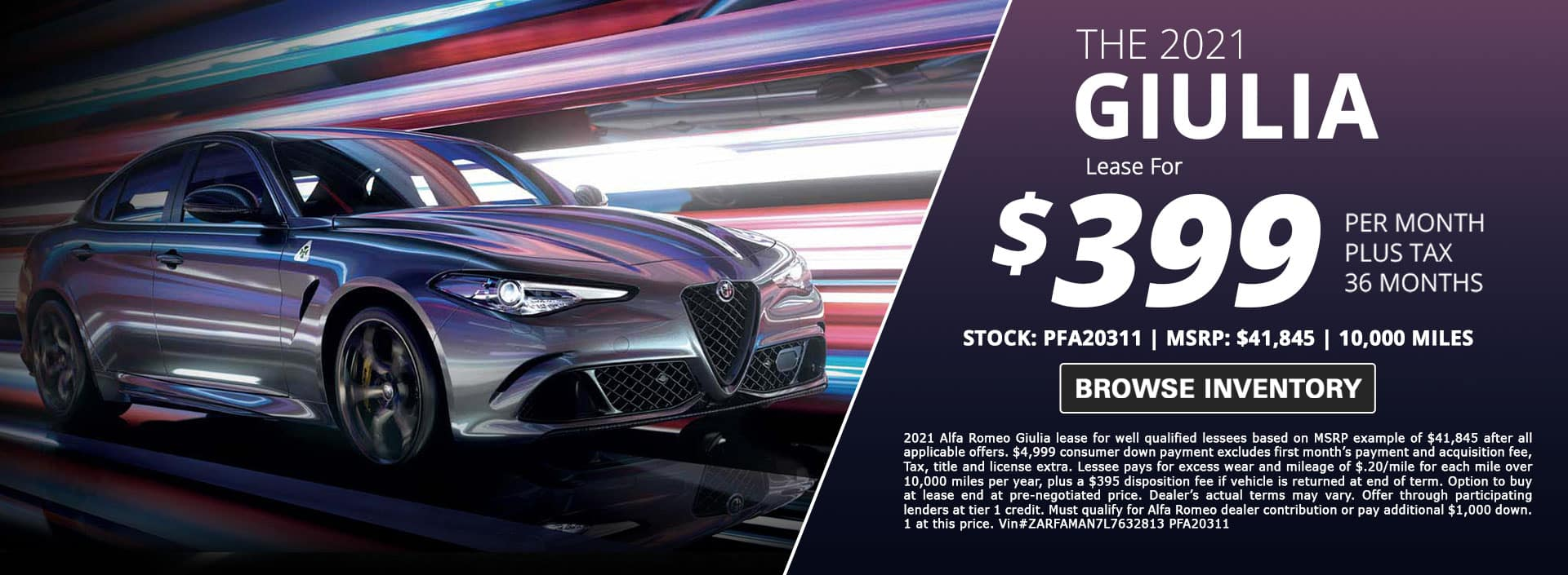new alfa romeo giulia lease special for sale in city of industry california