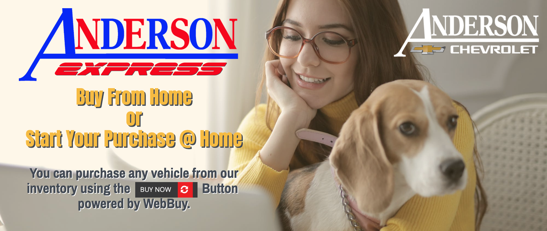 Anderson Express Buy From Home