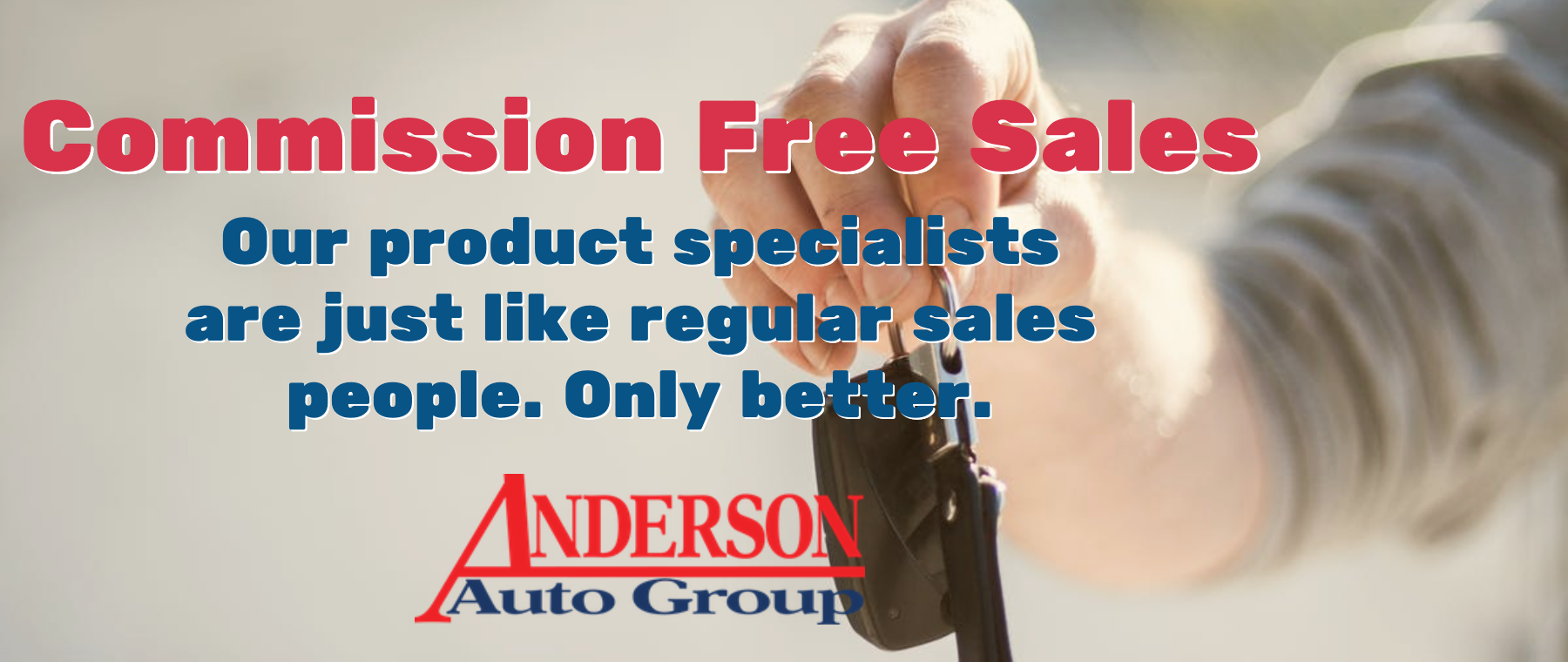 Anderson Chevrolet Commission Free Sales