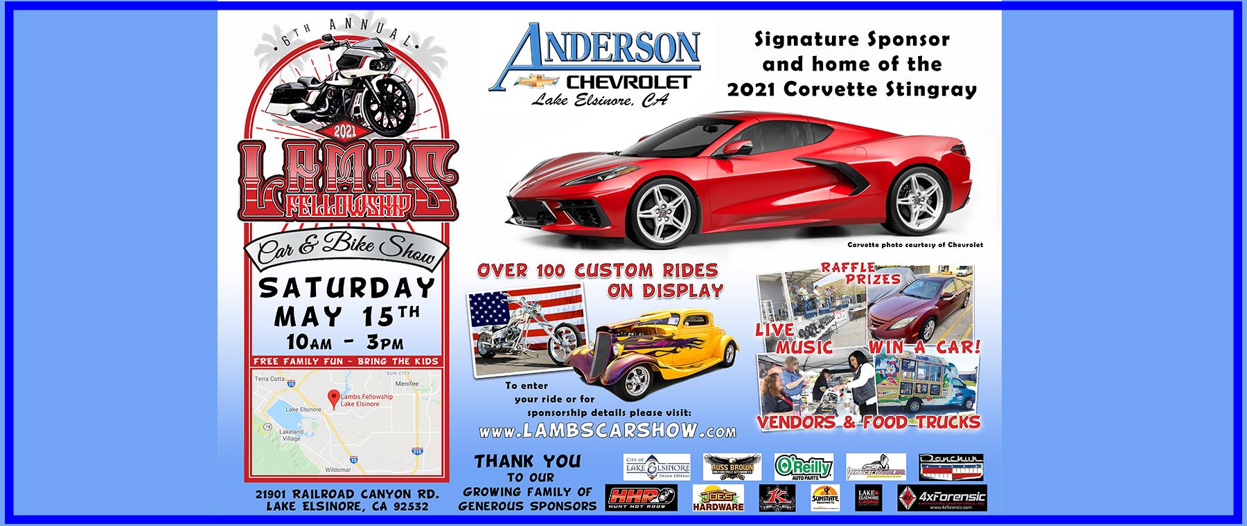 Anderson Chevrolet Lamb's Car Show