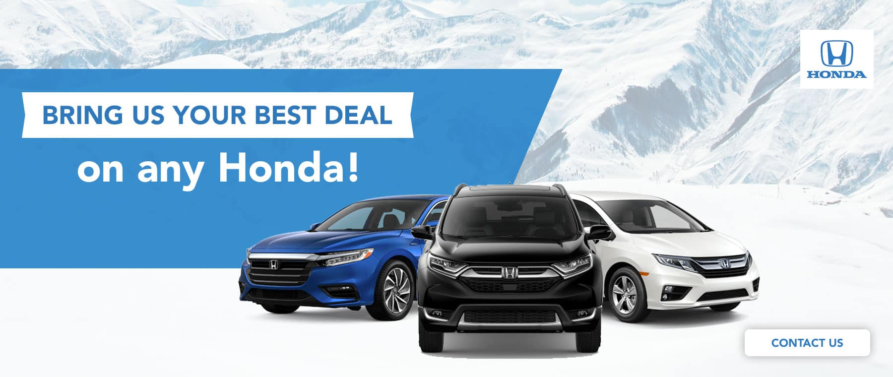 Bring Us Your Best Deal