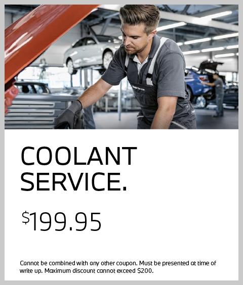 Coolant Service Coupon: $199.95 deal