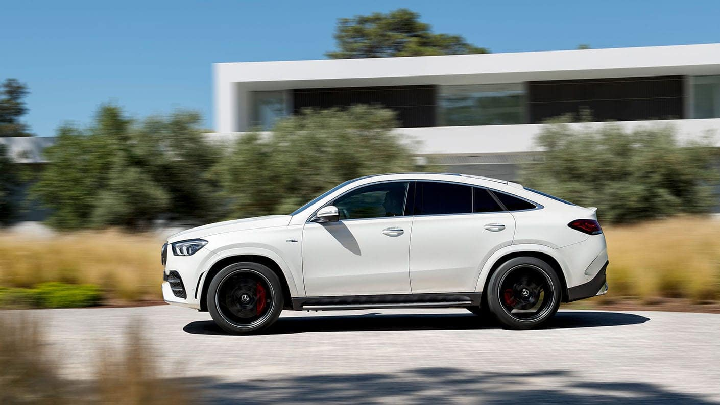 The new 2021 Mercedes-AMG GLE 53 Coupe