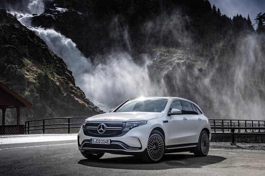 new electric Mercedes-Benz