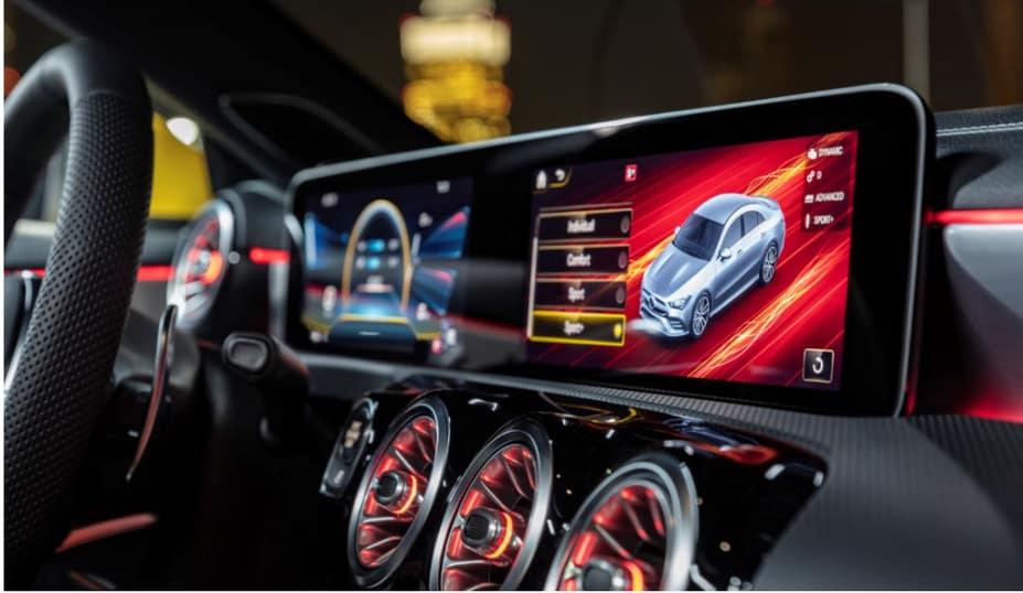 Mercedes Benz Infotainment system