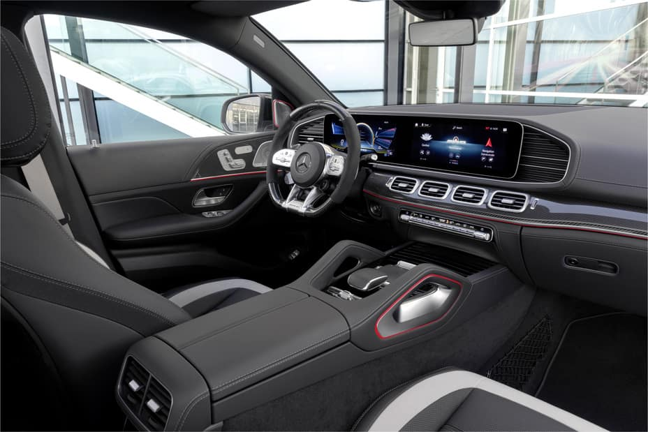 AMG GLE 63 S Coupe interior
