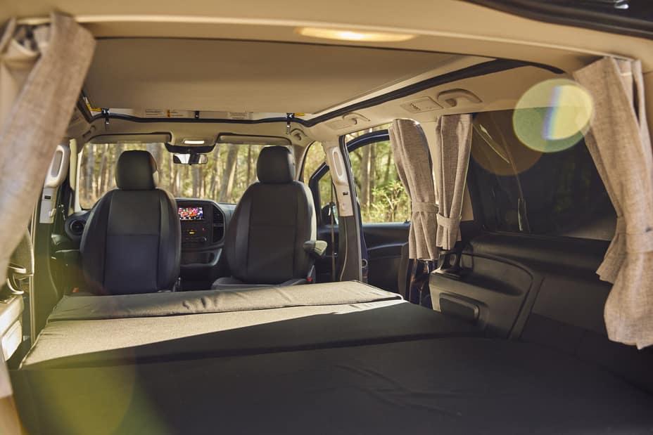 Mercedes-Benz Pop Up Van interior