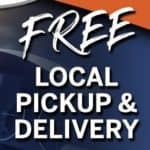 free local pick up and delivery