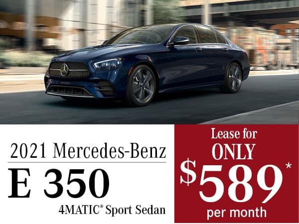 2020 Mercedes-Benz E 350 4MATIC® Sport Sedan