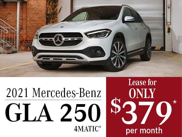 2021 Mercedes-Benz GLA 250 4MATIC®
