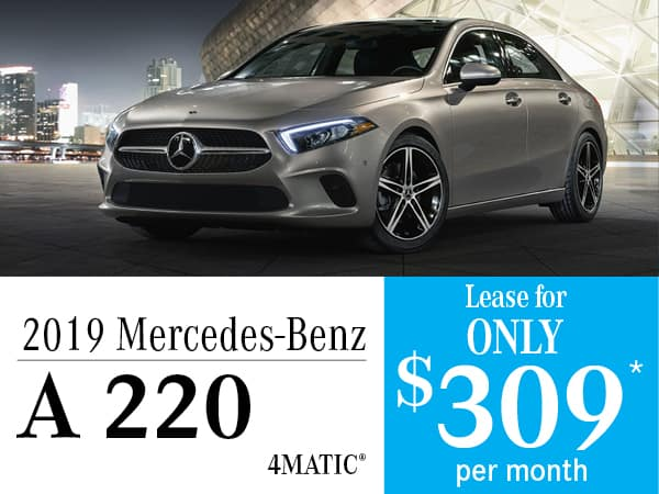 2019 Mercedes-Benz A 220 4MATIC