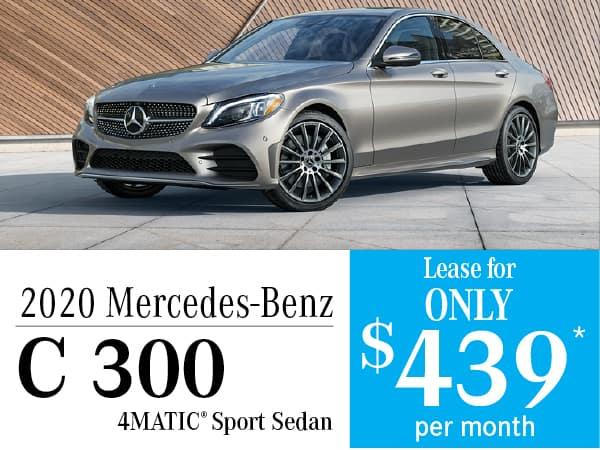2020 Mercedes-Benz C 300 4MATIC® Sport Sedan