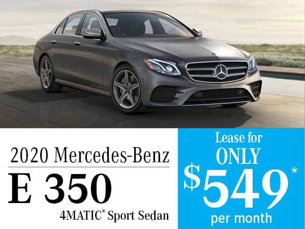 2020 Mercedes-Benz E 350 4MATIC® Sport Sedan