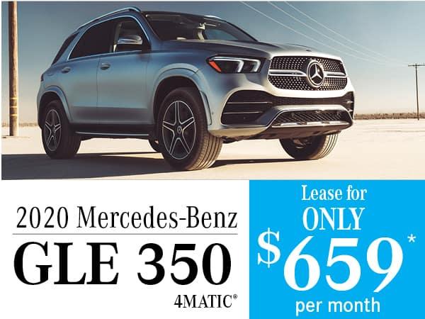 2020 Mercedes-Benz GLE 350 4MATIC®: