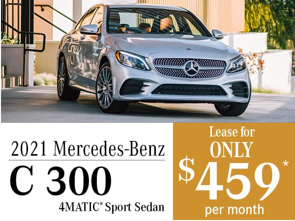 2021 Mercedes-Benz C 300 4MATIC® Sport Sedan