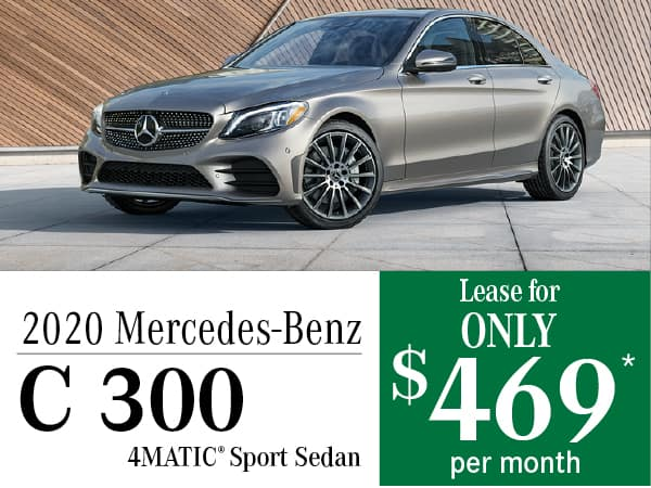 2020 Mercedes-Benz C 300 4MATIC® Sport Sedan