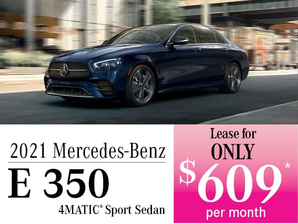 2021 Mercedes-Benz E 350 4MATIC® Sport Sedan