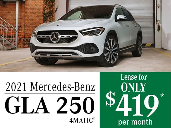 2021 Mercedes-Benz GLA 250 4MATIC®