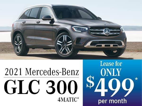 2021 Mercedes-Benz GLC 300 4MATIC