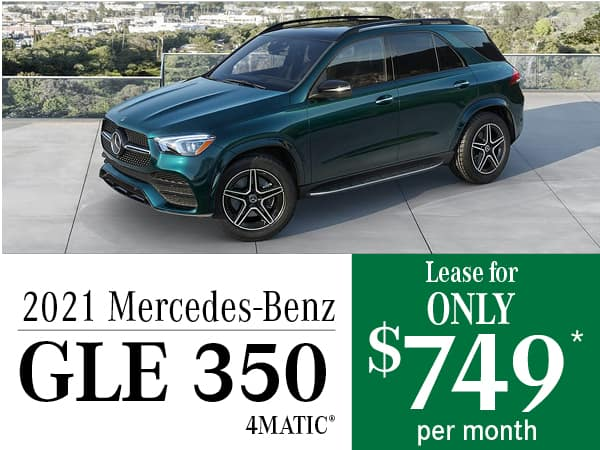 2021 Mercedes-Benz GLE 350 4MATIC®: